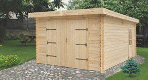 Holzgarage T19