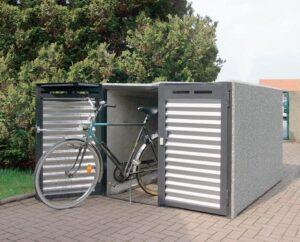 Elegante Fahrradbox